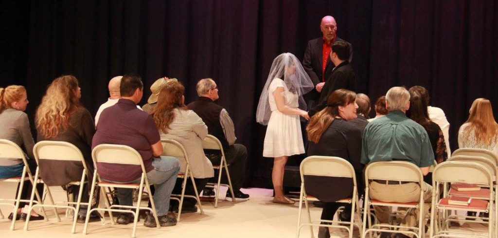 An April 2016 production of Our Town